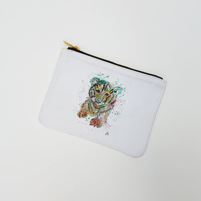 """Franklin Tiger Cub"" Large Coin Pouch"