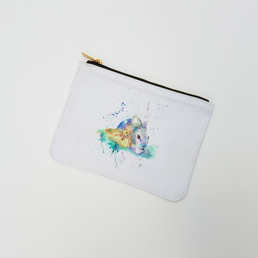 """Pals (Bunny & Chick)"" Large Coin Pouch"
