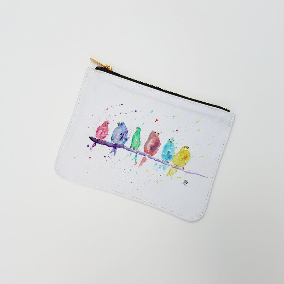 """Tweet"" Large Coin Pouch"