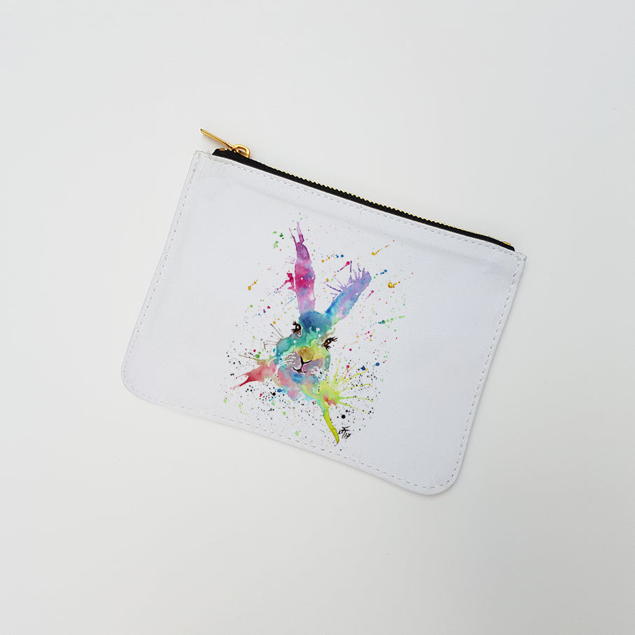 """Summer Hare"" Large Coin Pouch"