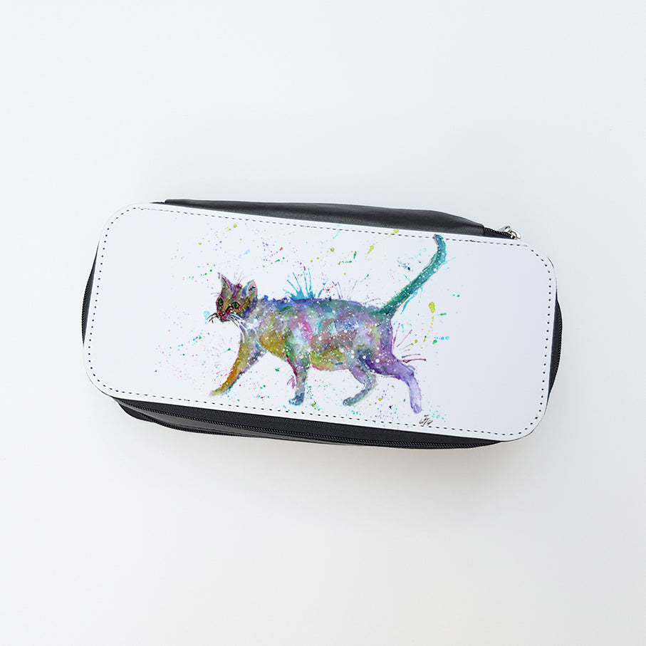 """Bob (Cat)"" Ladies Makeup Bag"