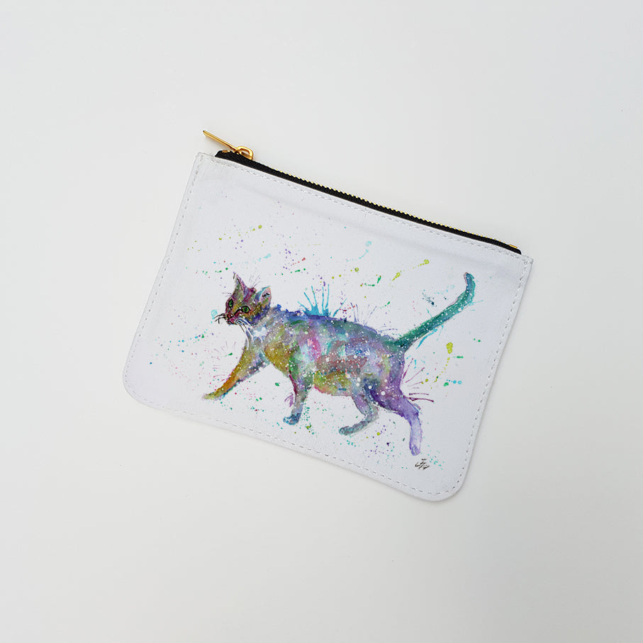 """Bob (Cat)"" Large Coin Pouch"