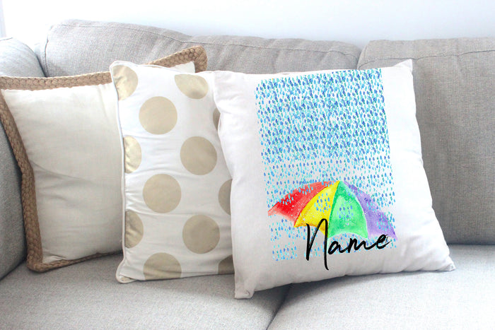 """British Summer"" Personalised Cushion Cover"