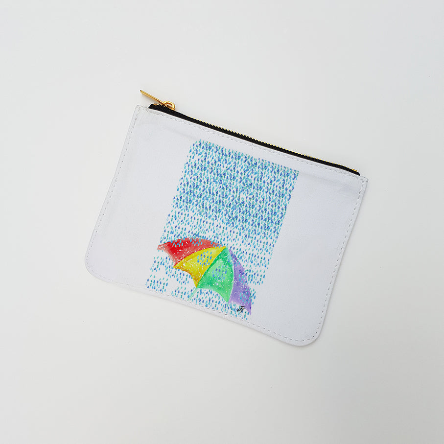 """British Summer"" Large Coin Pouch"