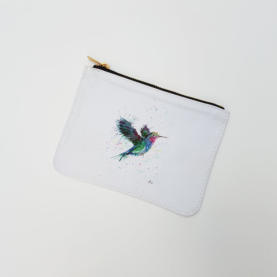 """Sue (Humming Bird)"" Large Coin Pouch"