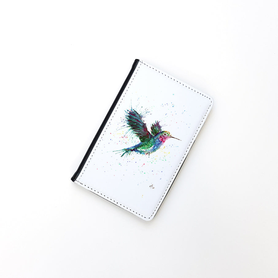 """Sue (Humming Bird)"" Passport Holder"