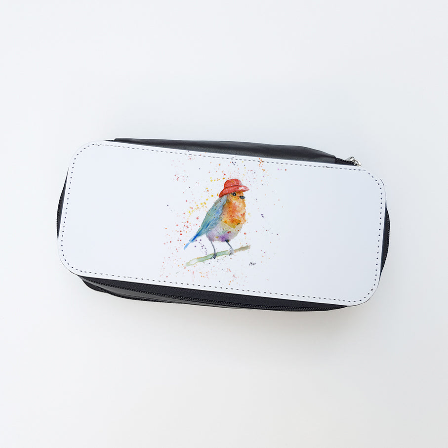 """Mrs Robin"" Ladies Makeup Bag"