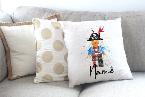 """Arggghhh Pirate"" Personalised Cushion Cover"