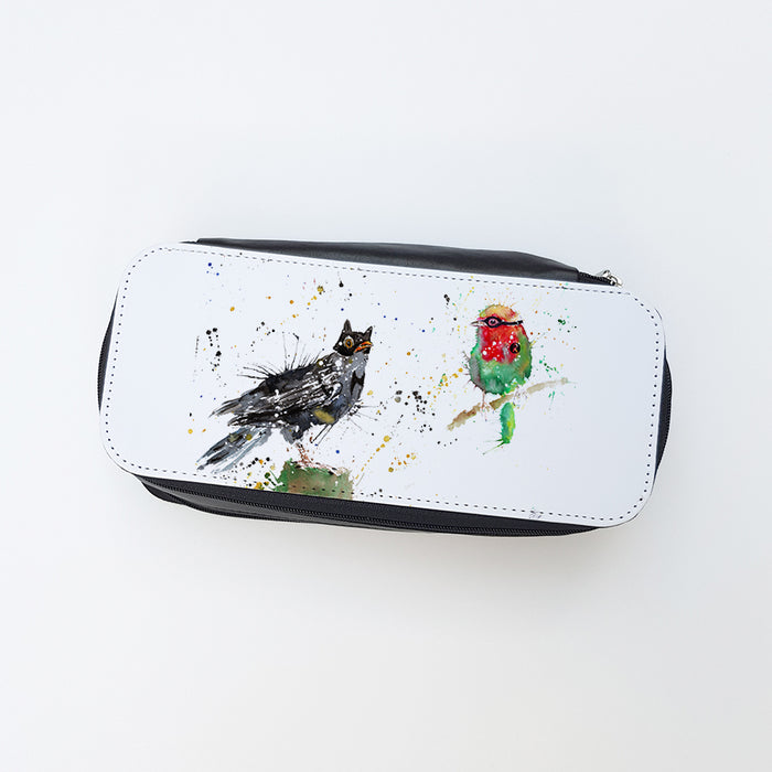 """Blackbird & Robin"" Ladies Makeup Bag"