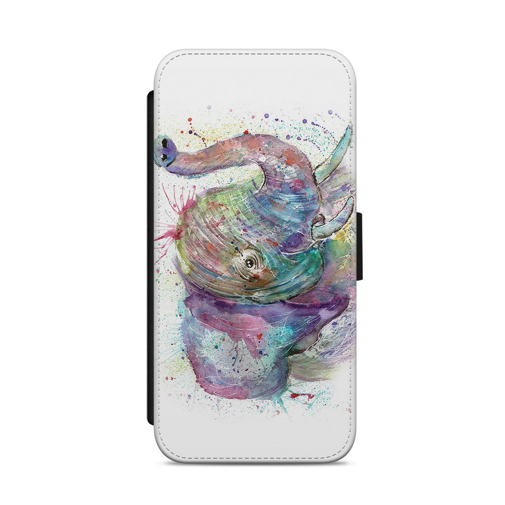 """Ele"" Elephant Flip Phone Case"