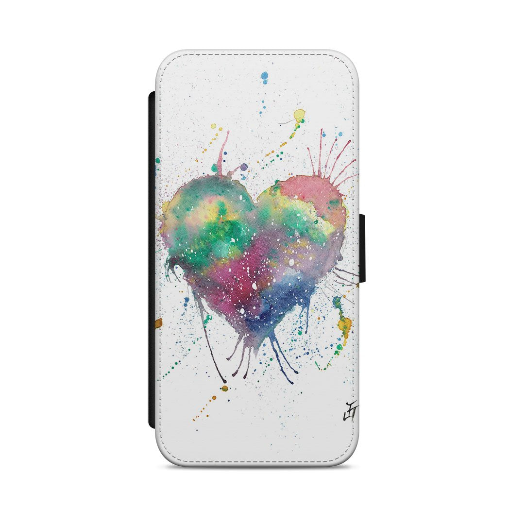 Heart Flip Phone Case
