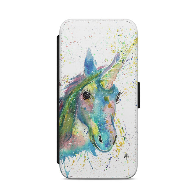 """Patty"" Unicorn Flip Phone Case"