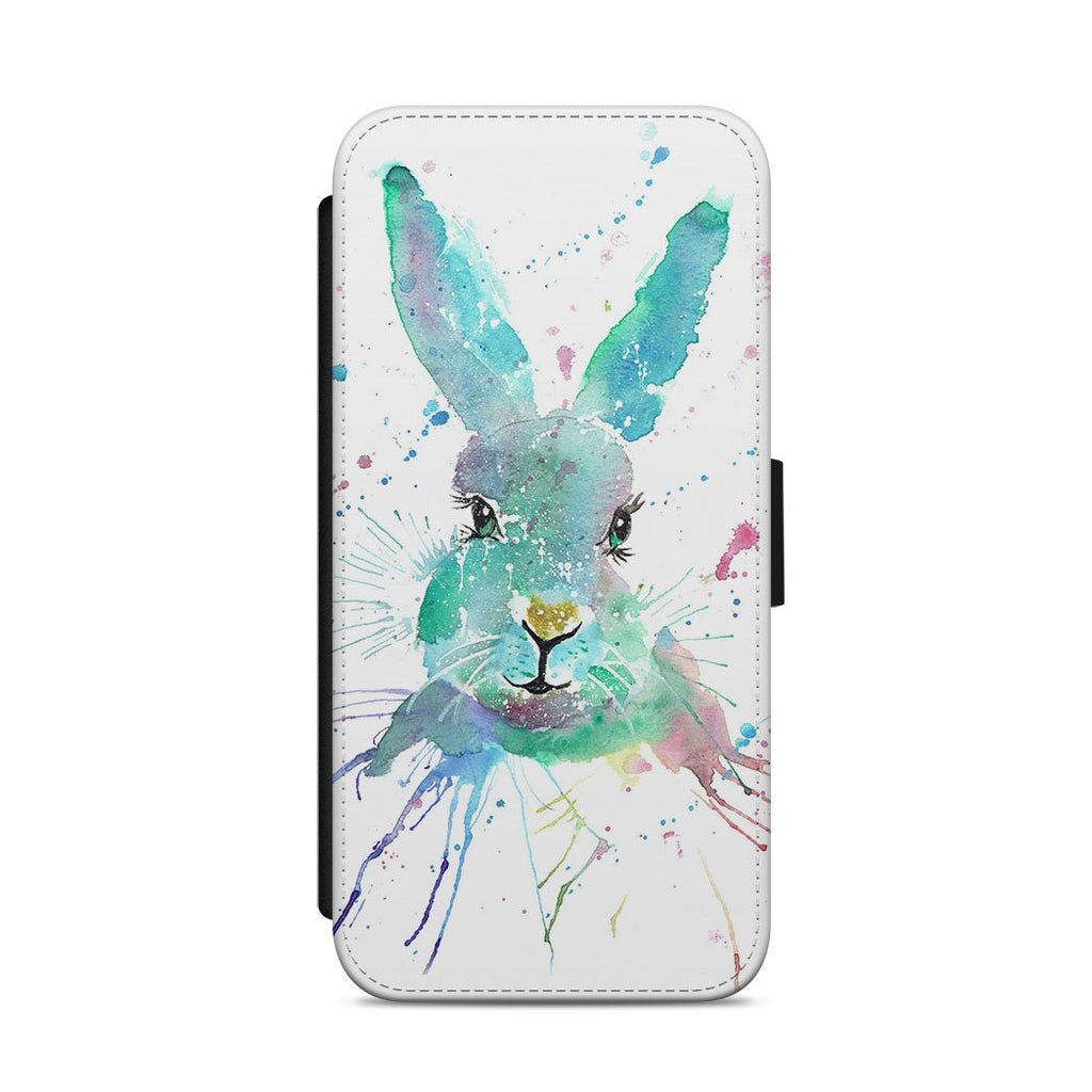 """Minty"" Hare Flip Phone Case"