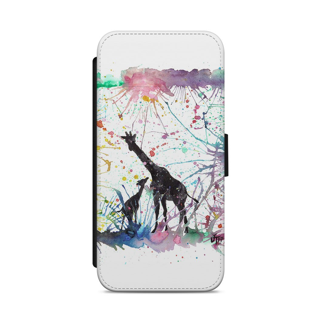 Little Giraffes Flip Phone Case