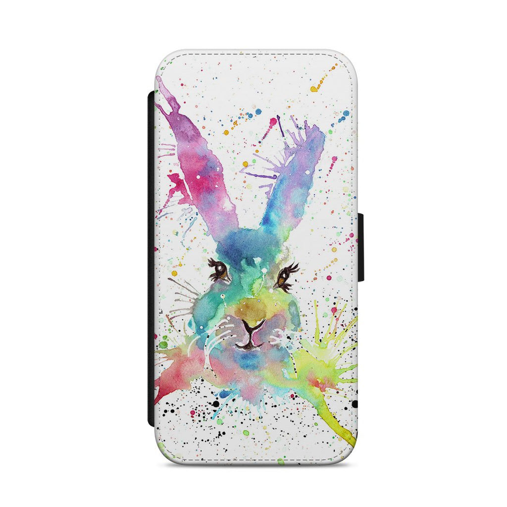 Summer Hare Flip Phone Case