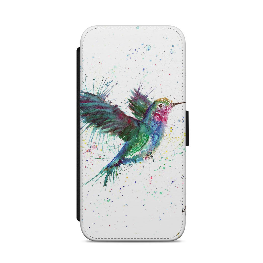 """Sue"" Humming Bird Flip Phone Case"