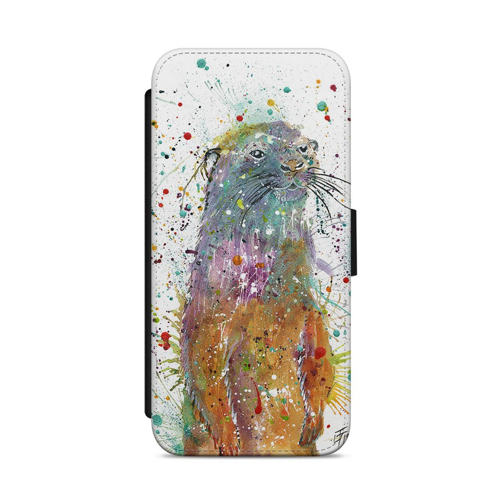 Ray Li Otter Flip Phone Case