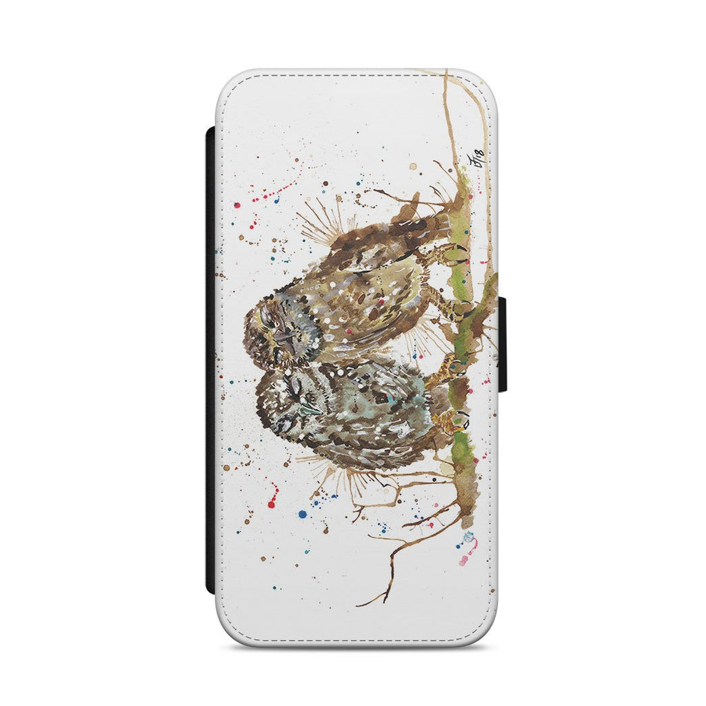 My Favourite Owl Flip Phone Case