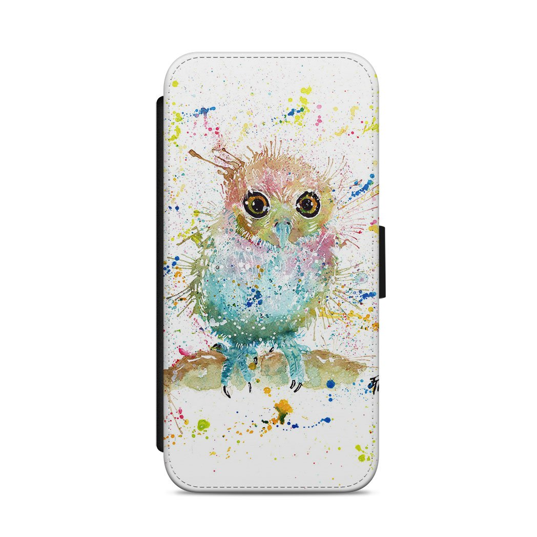 Baby Owl Flip Phone Case