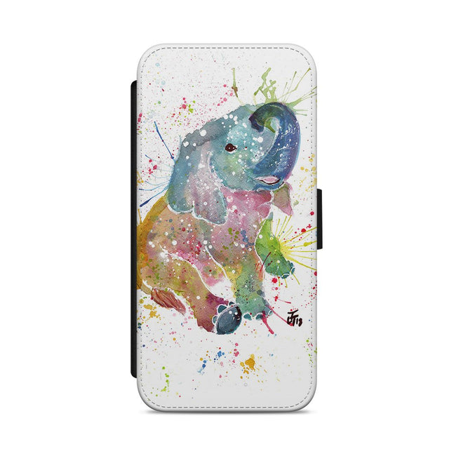 Baby Elephant Flip Phone Case
