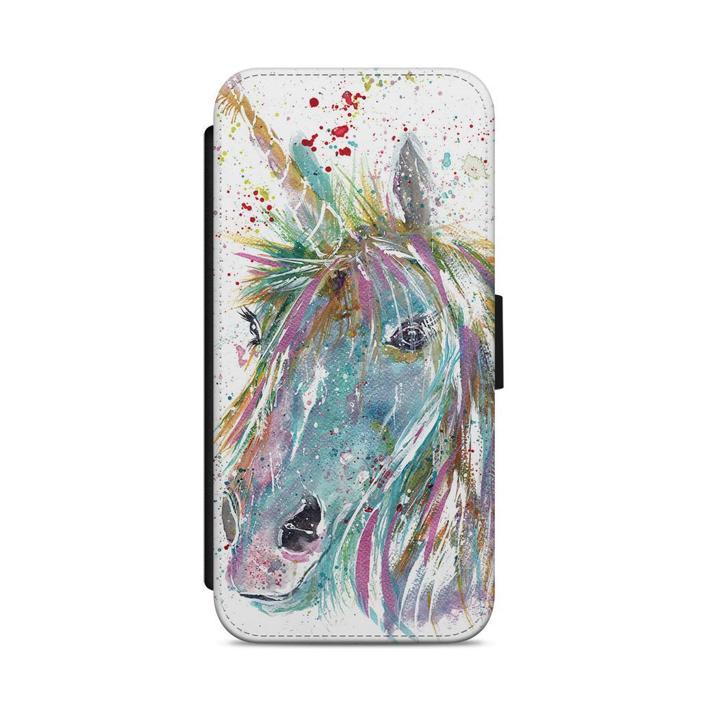 """Millie"" Unicorn Flip Phone Case"