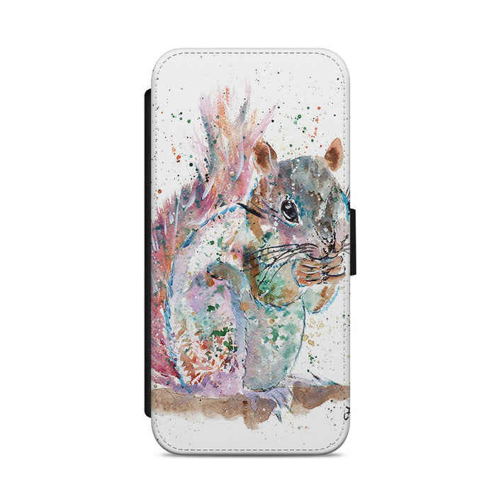 """Nige"" Squirrel Flip Phone Case"