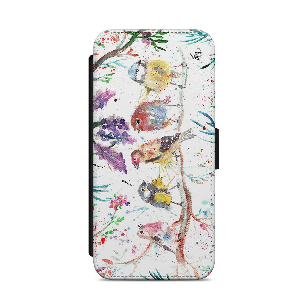 """Tree Friends"" Birds Flip Phone Case"