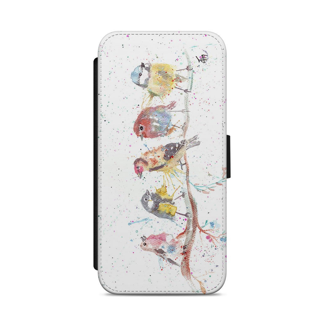 """Tree Friends"" Birds 2 Flip Phone Case"
