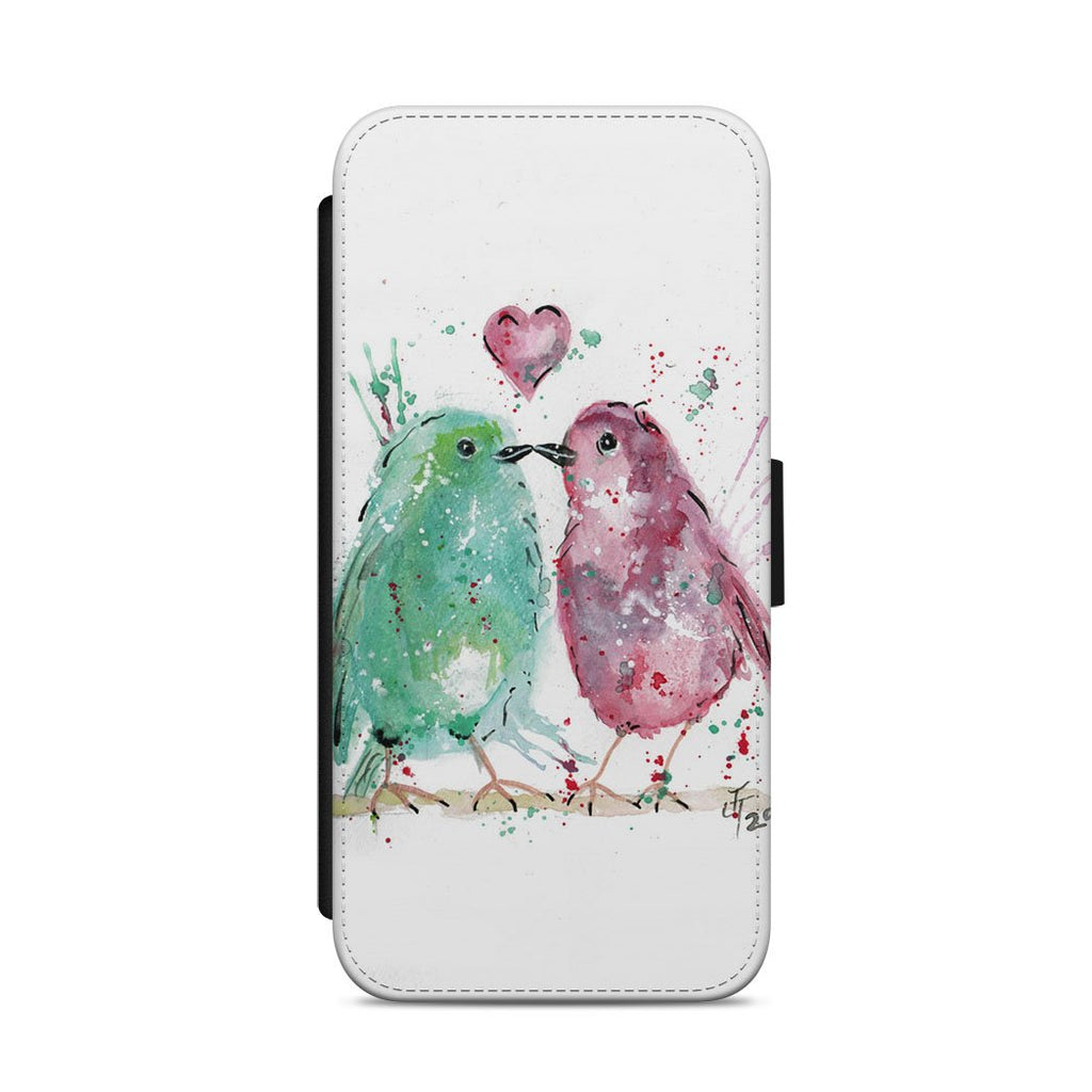 Tweet Heart Flip Phone Case
