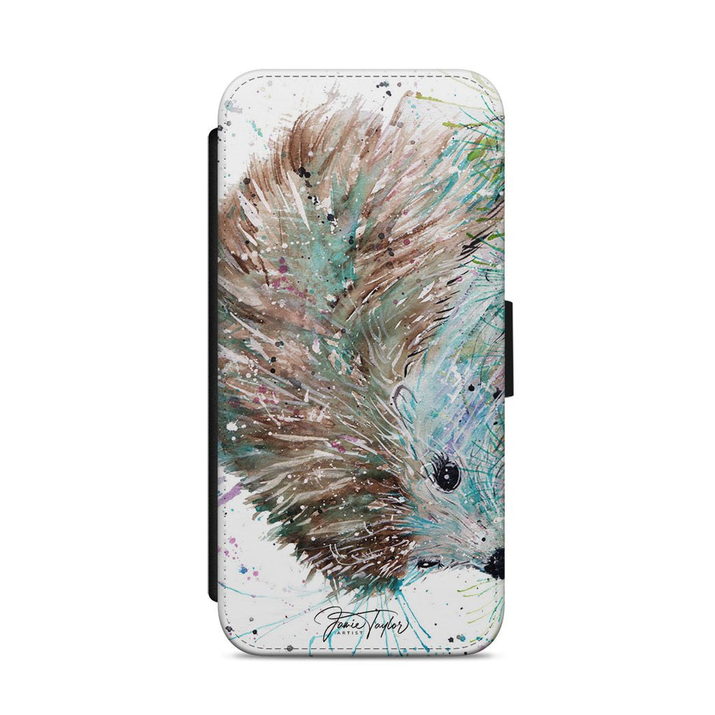 """Sweet"" Hedgehog Flip Phone Case"