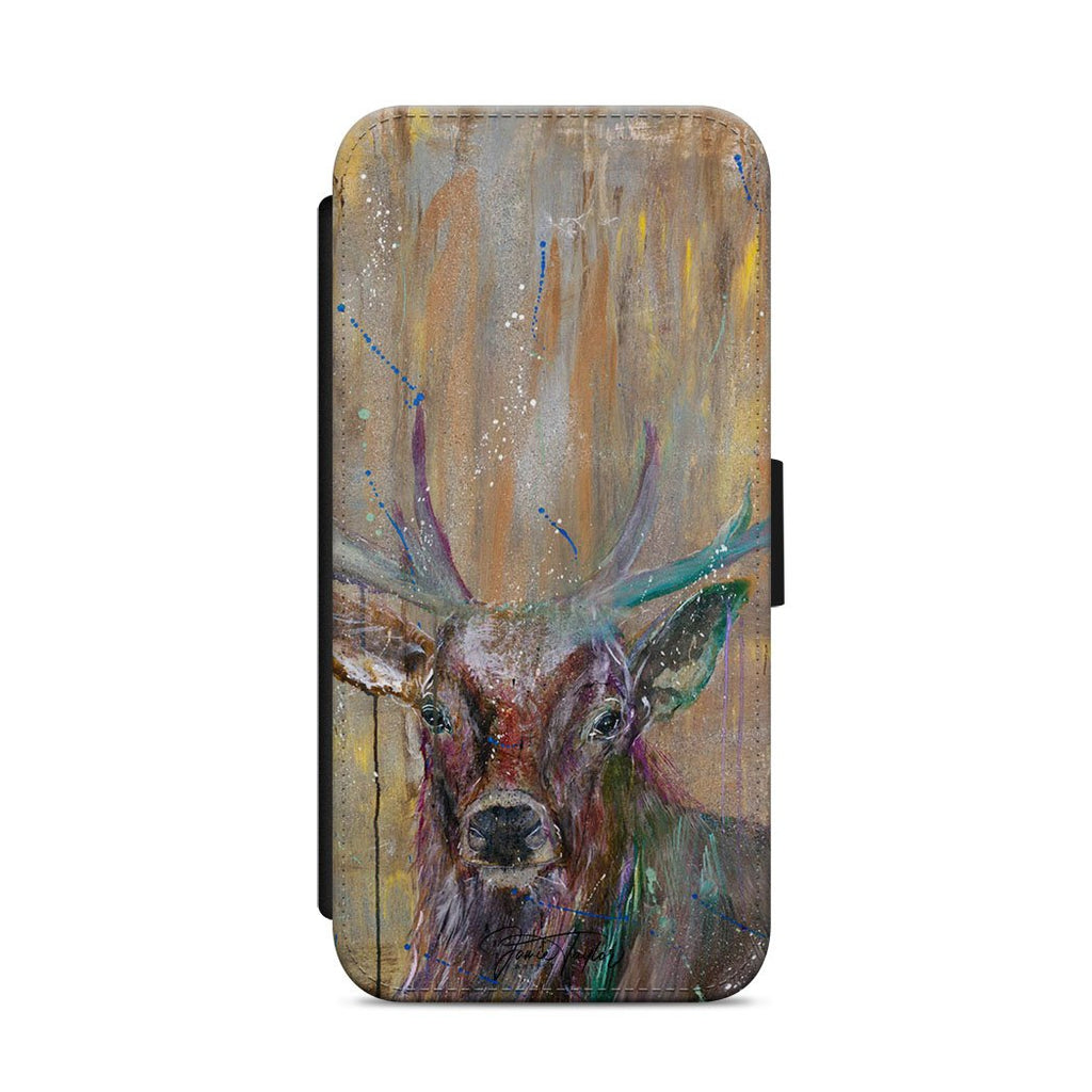"""Illustrious"" Stag Flip Phone Case"