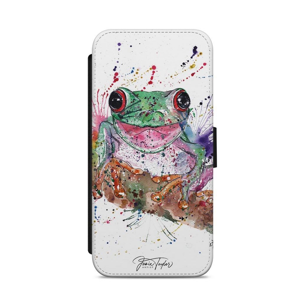 Chris the Frog Flip Phone Case