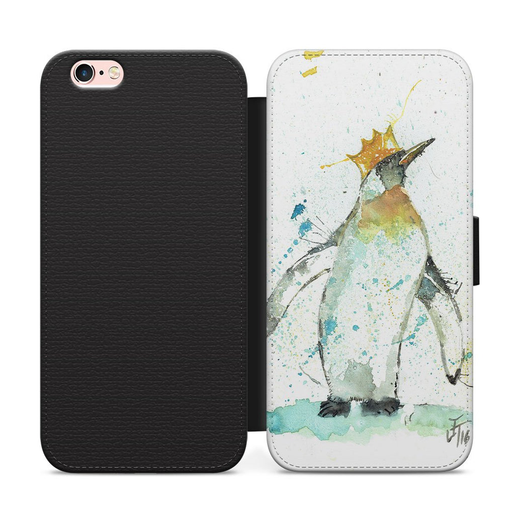 Party Penguin Flip Phone Case