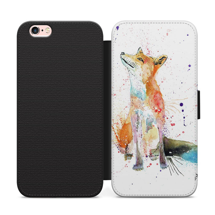 """Wishes"" Fox Flip Phone Case"