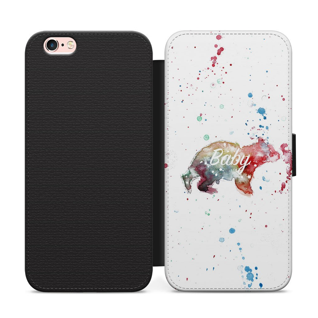 Baby Bear Flip Phone Case