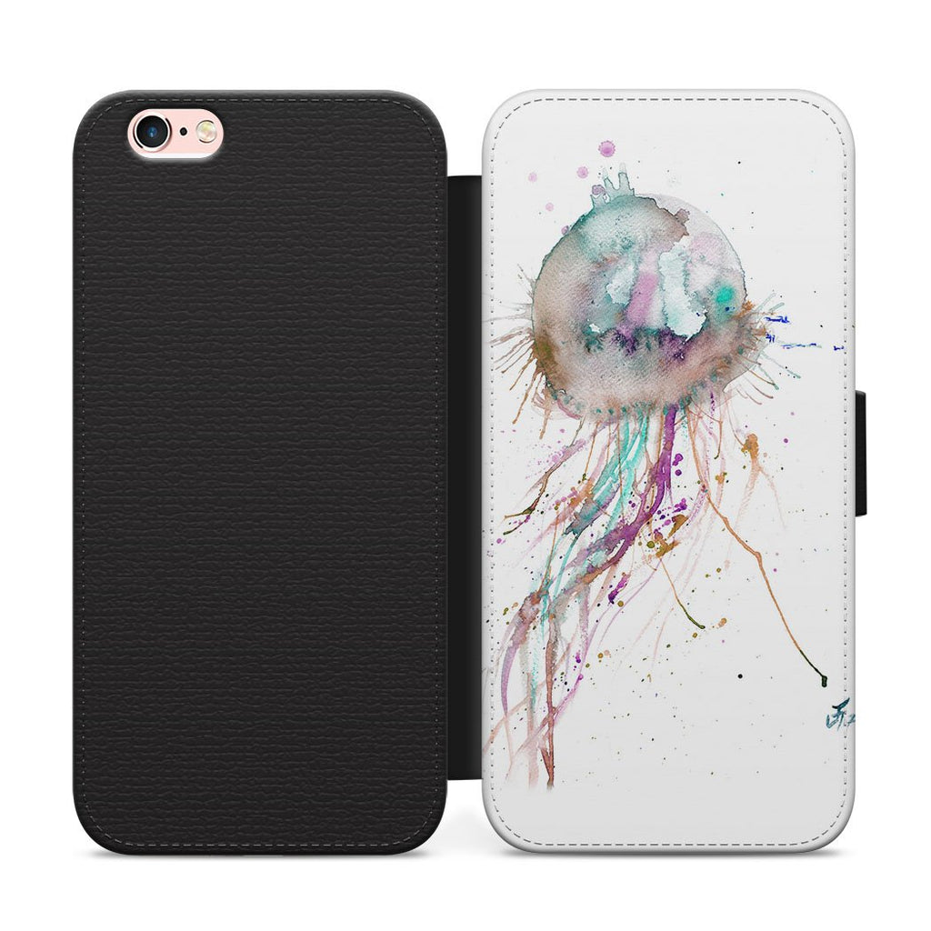 Jellyfish Flip Phone Case