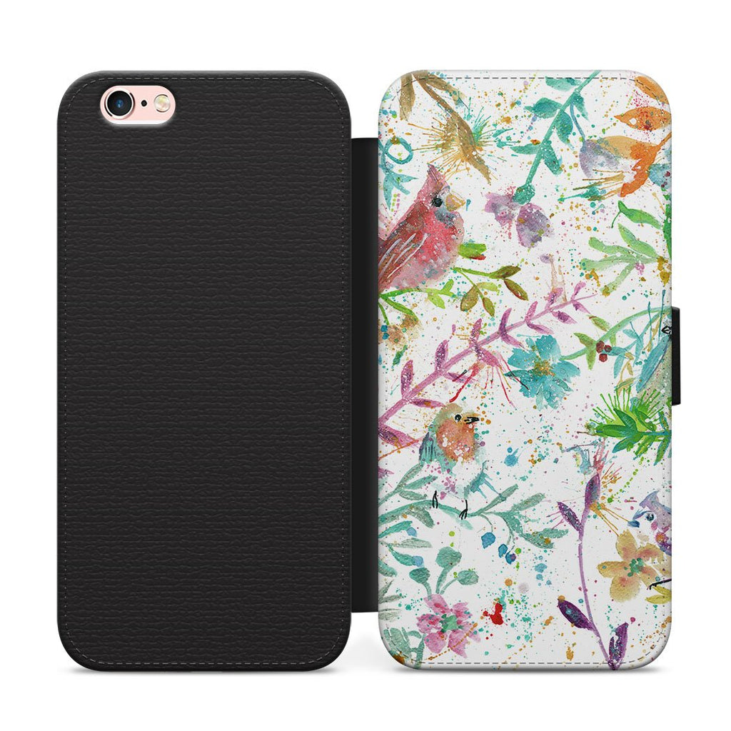 Hedgerow Flip Phone Case