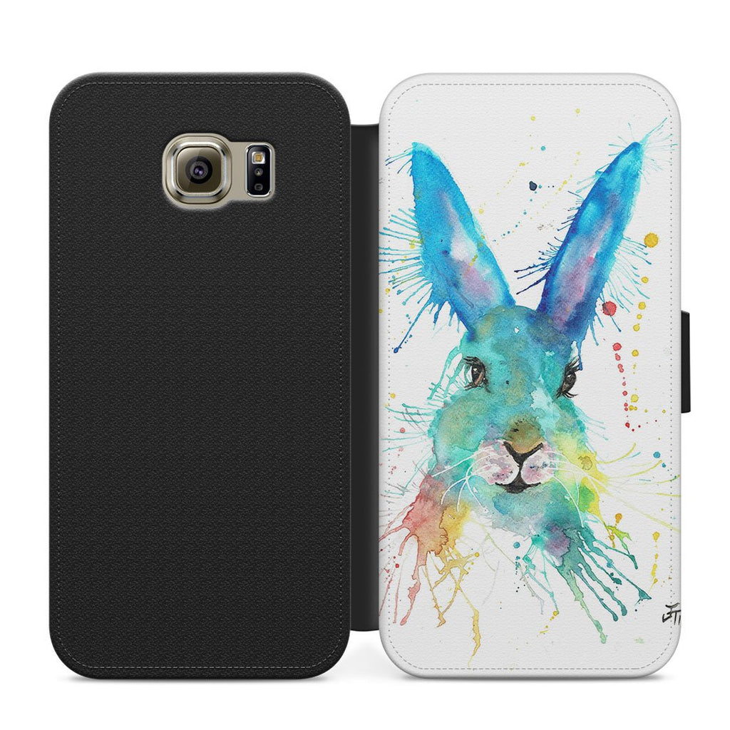 Hare Hare Flip Phone Case