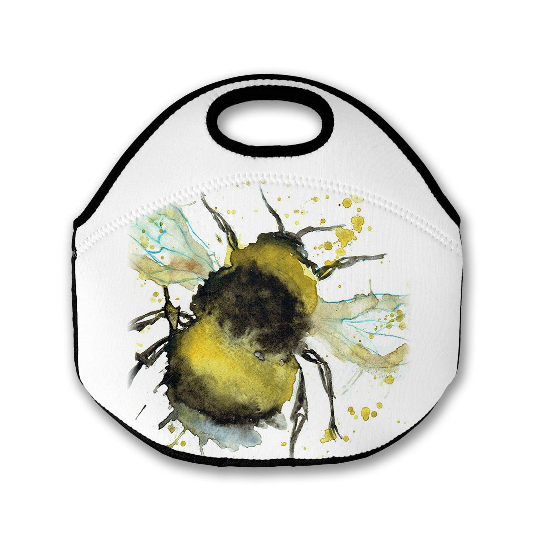 Bumble Bee Lunch Tote Bag