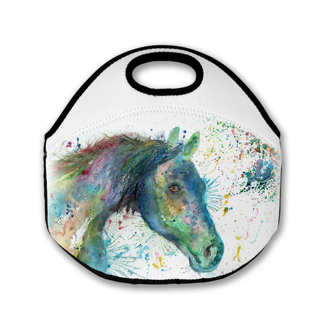 Neigh Horse Lunch Tote Bag