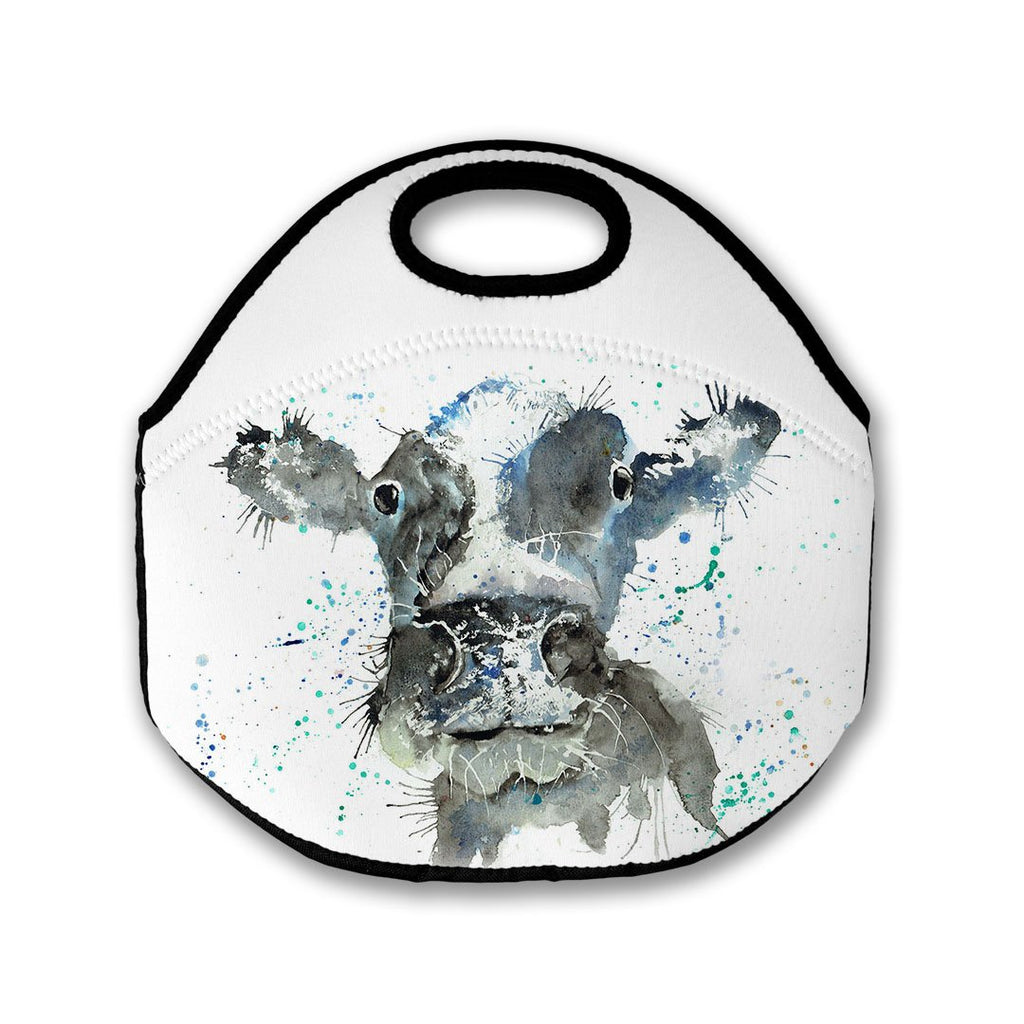 """Moo"" Cow Lunch Tote Bag"
