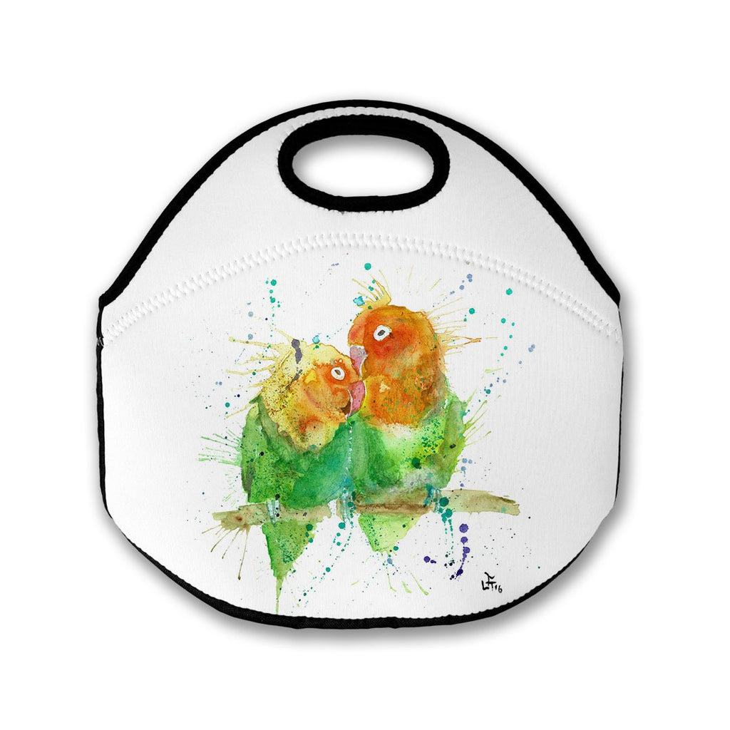 Love Birds Lunch Tote Bag