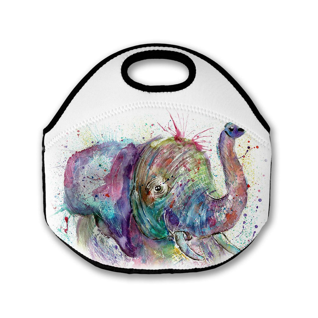 """Ele"" Elephant Lunch Tote Bag"