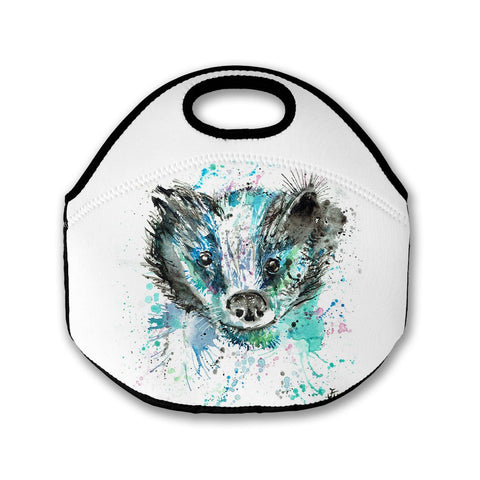 Baz (Badger) Lunch Tote Bag