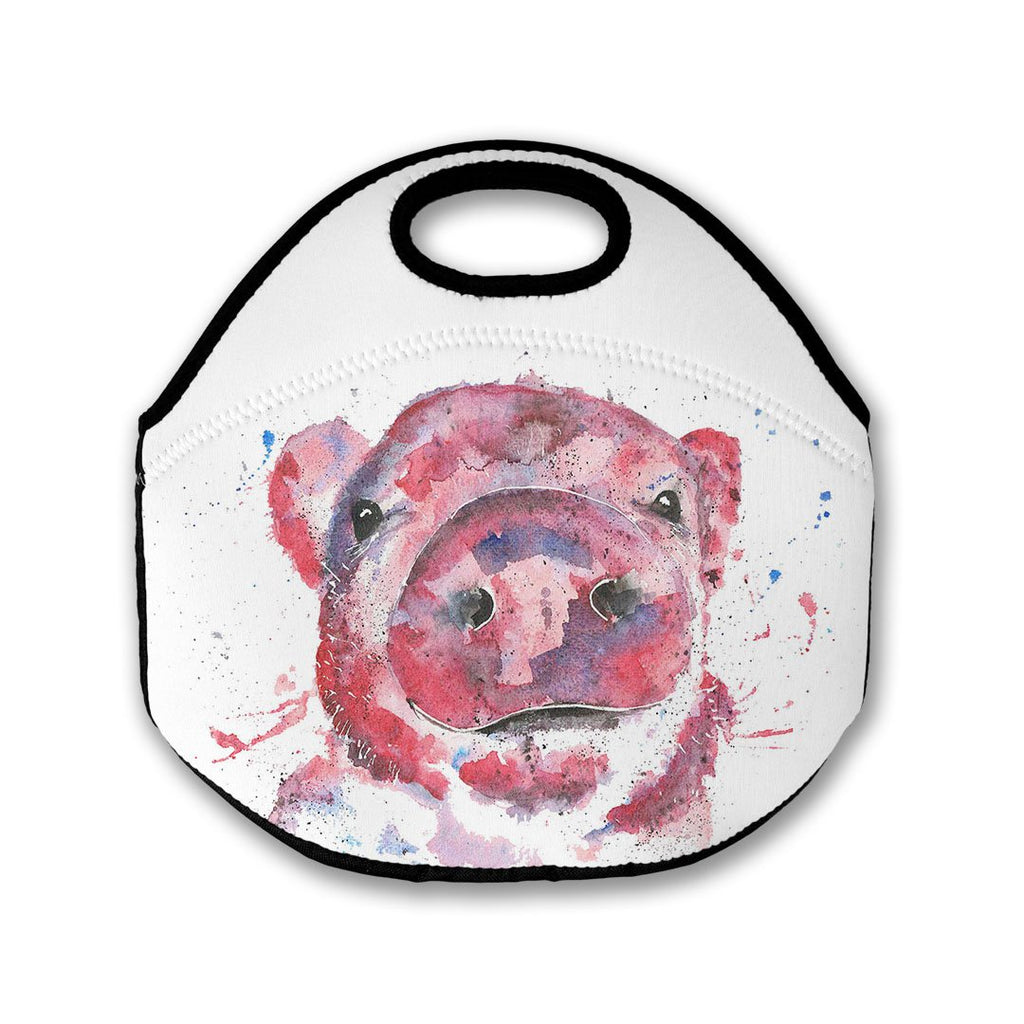 """Priscilla"" Pig Lunch Tote Bag"