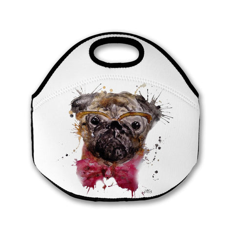 Pug Lunch Tote Bag