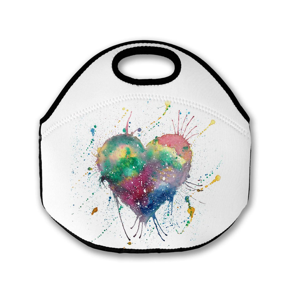 Heart Lunch Tote Bag