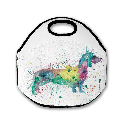 Mrs Sausage Dog Lunch Tote Bag