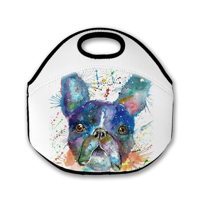 Bruno (Boston Terrier) Lunch Tote Bag