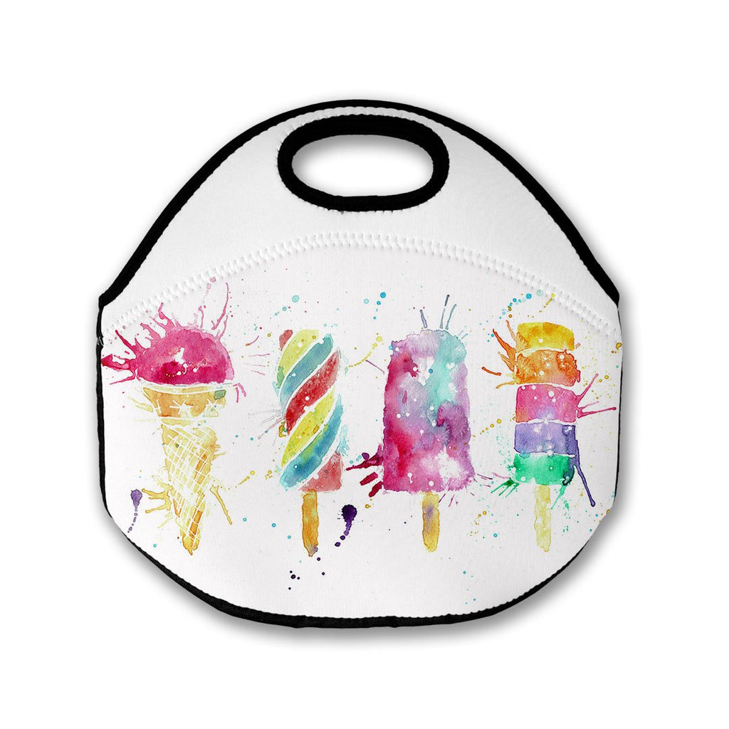 Ice Lollies Lunch Tote Bag